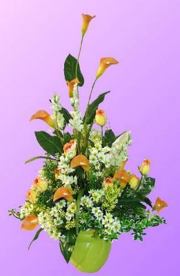 Dried Flower Arrangements on Silk Flowers   Artificial Flowers